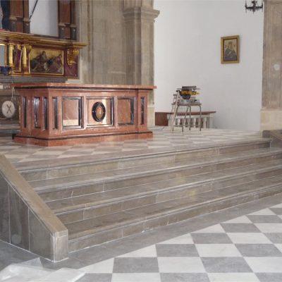 Restauración en mármol de iglesias y monumentos