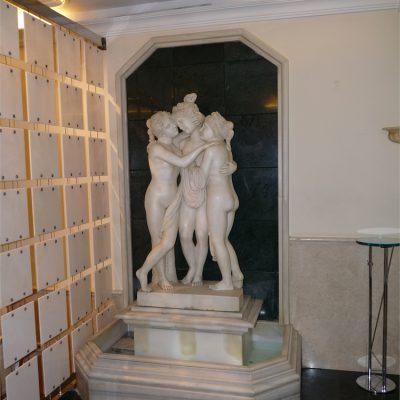 Decoración en mármol para interiores